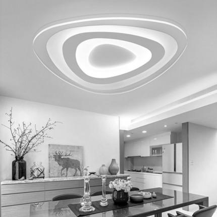 Потолочный светильник с пультом GLASS/PL500