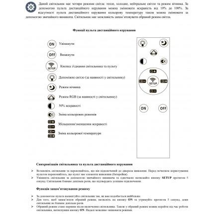 Потолочный светильник с пультом STING/PL500
