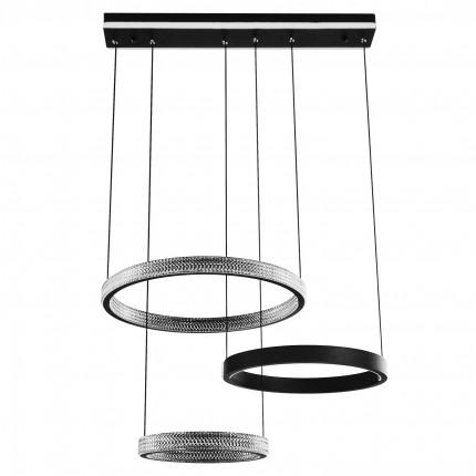 Светодиодная люстра с пультом APOLLO/SP3 black