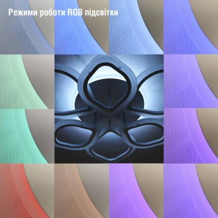 Светодиодная люстра с пультом BEGONIA/PL8