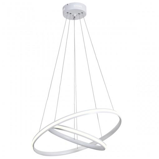 Светодиодная люстра с пультом white