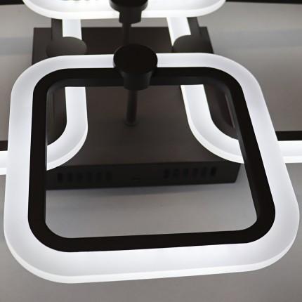 Светодиодная люстра с пультом FIXY/PL4 coffee