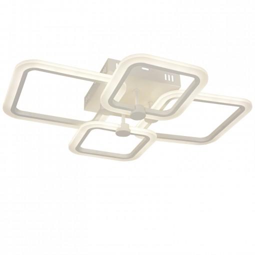 Светодиодная люстра с пультом FIXY/PL4 white