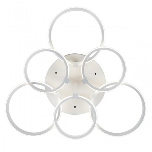 Светодиодная люстра с пультом JOLLY/PL6 white