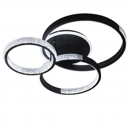 Светодиодная люстра с пультом MEDEA/PL3 black