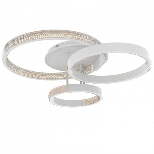 Светодиодная люстра с пультом MEDEA/PL3 white
