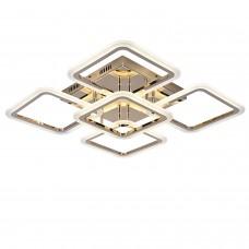Светодиодная люстра с пультом RHOMBUS/PL5 gold