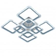 Светодиодная люстра с пультом RHOMBUS/PL8 chrome