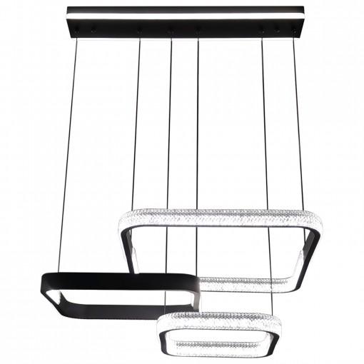 Светодиодная люстра с пультом ZEUS/SP3 black