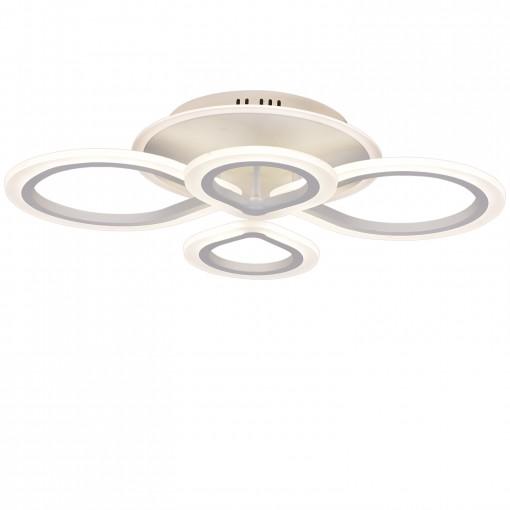 Светодиодная люстра с пультом ZIG/PL4 white