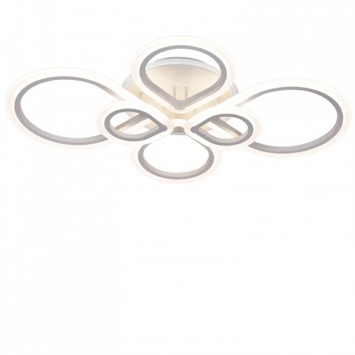 Светодиодная люстра с пультом ZIG/PL6 white