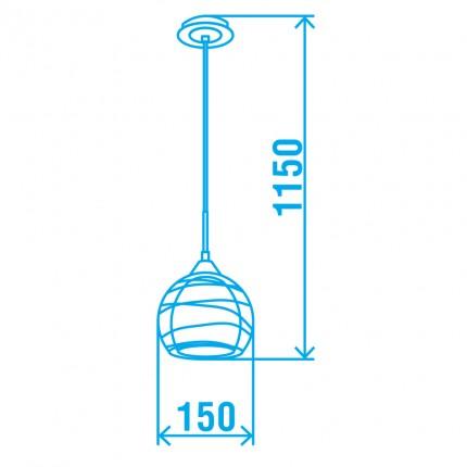Подвесной светильник SOBA/SP1